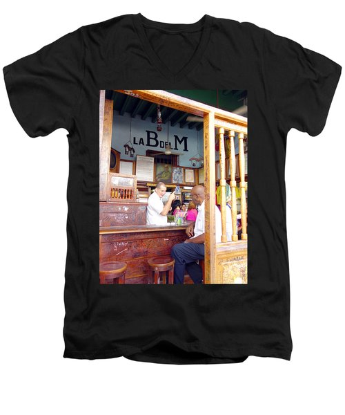 Inside La Bodeguita Del Medio Men's V-Neck T-Shirt