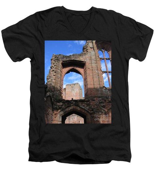 Inside Leicester's Building Men's V-Neck T-Shirt