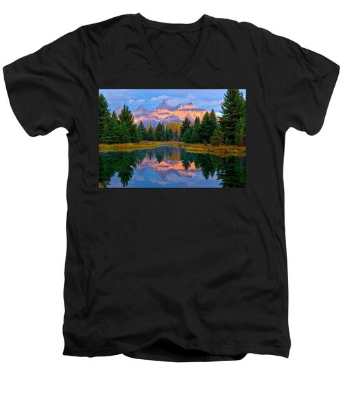 Intermittency Men's V-Neck T-Shirt