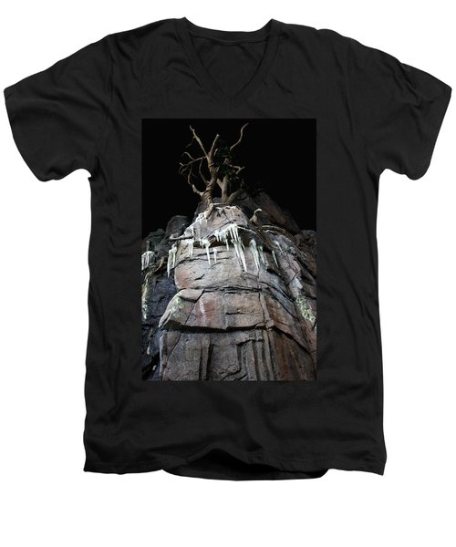 Into The Darkness Men's V-Neck T-Shirt