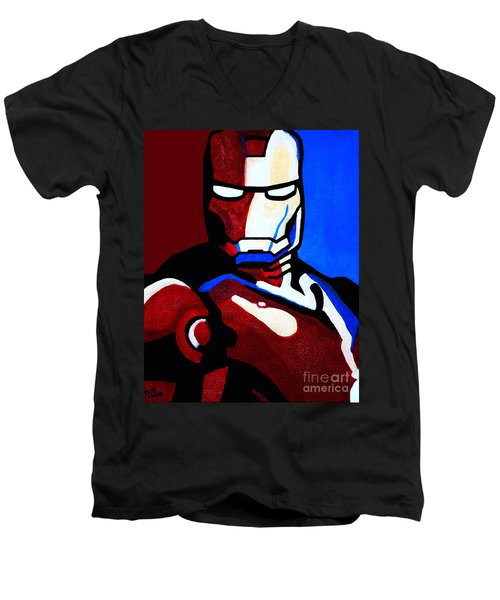 Iron Man 2 Men's V-Neck T-Shirt