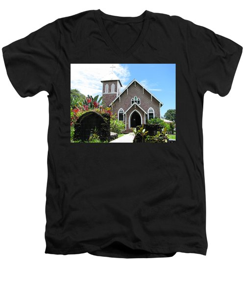 Island Church Men's V-Neck T-Shirt