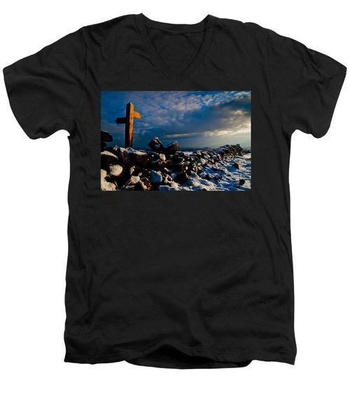 Its That Way Men's V-Neck T-Shirt
