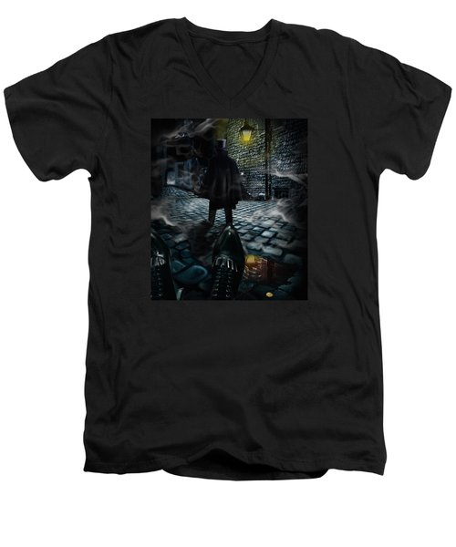 Jack The Ripper Men's V-Neck T-Shirt