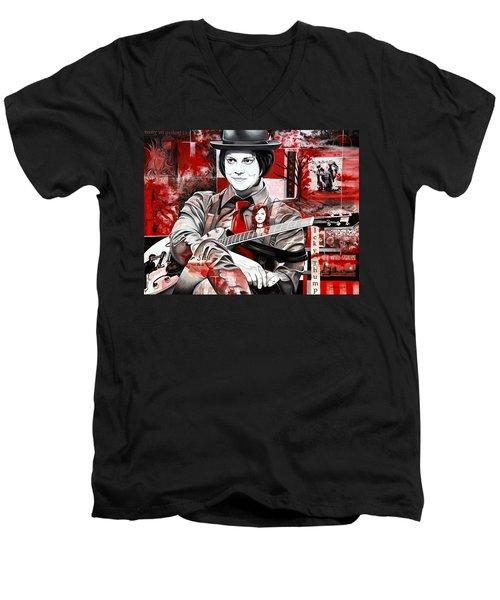 Jack White Men's V-Neck T-Shirt