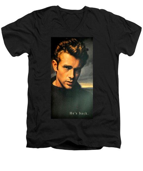 James Dean Men's V-Neck T-Shirt