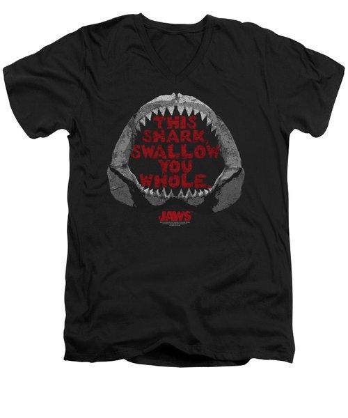 Jaws - This Shark Men's V-Neck T-Shirt