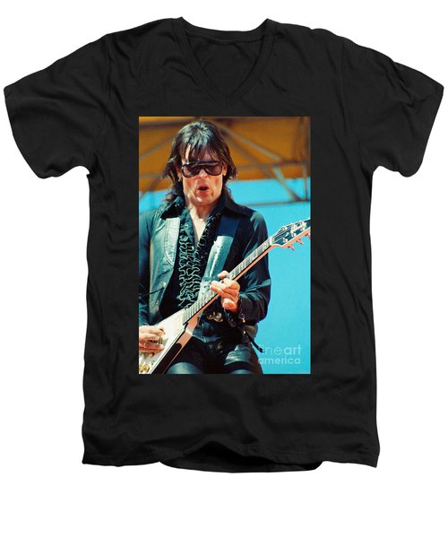 Jay Geils Of The J Geils Band- Day On The Green July 4th 1979 Men's V-Neck T-Shirt
