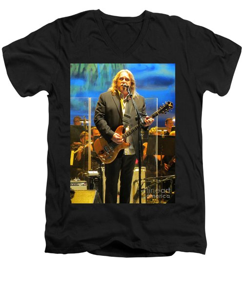 Warren Haynes  - Jerry Garcia Symphonic Celebration Men's V-Neck T-Shirt