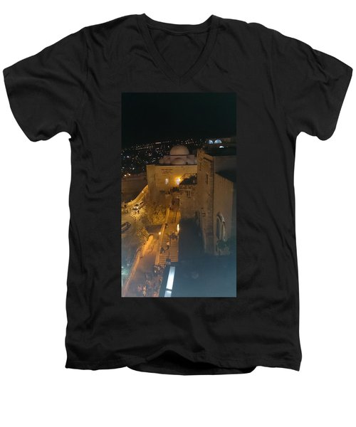 Jerusalem The Old City  Men's V-Neck T-Shirt