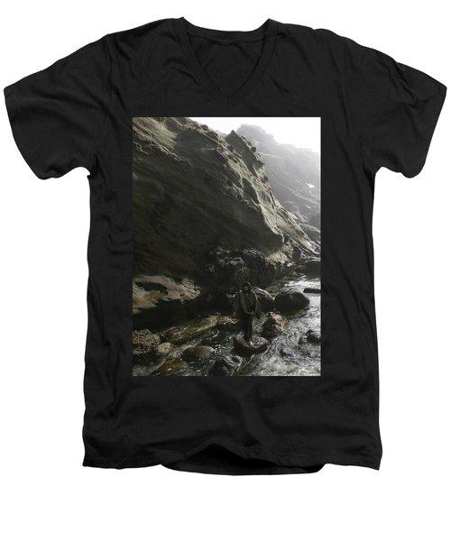 Jesus Christ- For I Know The Plans I Have For You Men's V-Neck T-Shirt