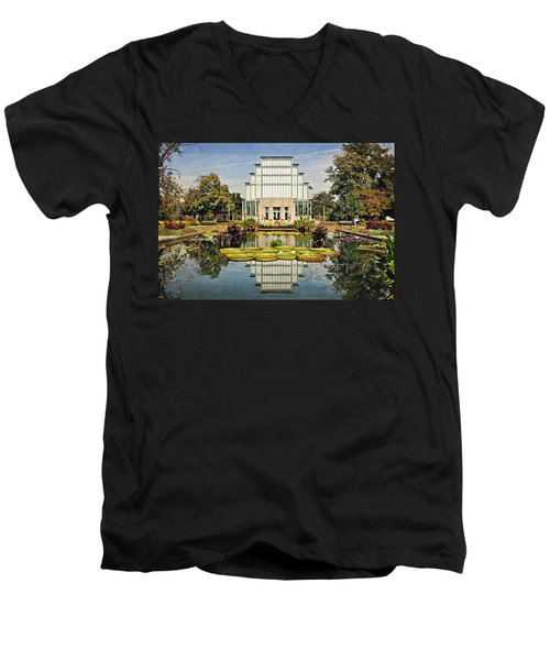 Men's V-Neck T-Shirt featuring the photograph Jewel Box 1 by Marty Koch