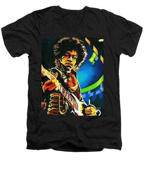 Bold As Love. Jimi Hendrix  Men's V-Neck T-Shirt