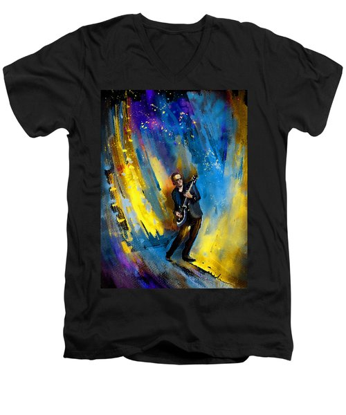Joe Bonamassa 03 Men's V-Neck T-Shirt