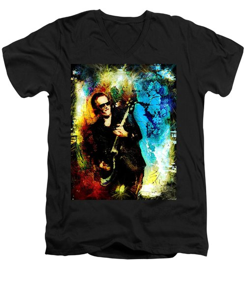 Joe Bonamassa Madness Men's V-Neck T-Shirt