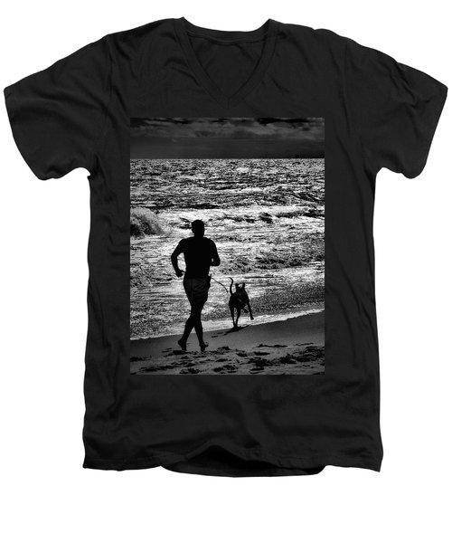Joggin Wit Dad Men's V-Neck T-Shirt
