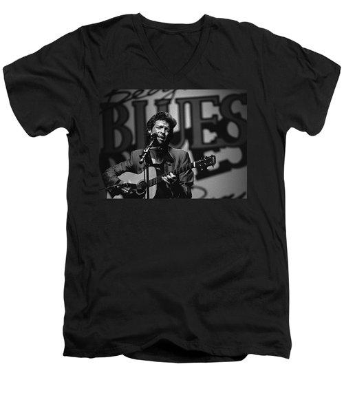 John Hammond Blues Men's V-Neck T-Shirt