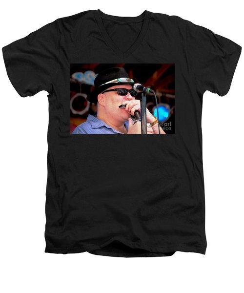 John Popper Men's V-Neck T-Shirt