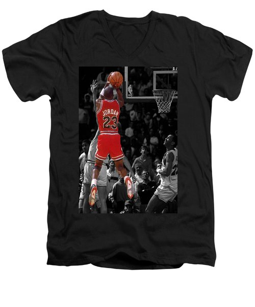 Jordan Buzzer Beater Men's V-Neck T-Shirt