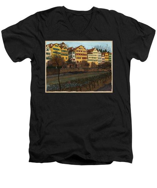 Judith's Walk Men's V-Neck T-Shirt
