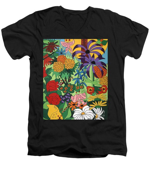 July Garden Men's V-Neck T-Shirt