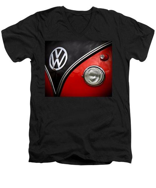 Just Art Men's V-Neck T-Shirt by Steve McKinzie