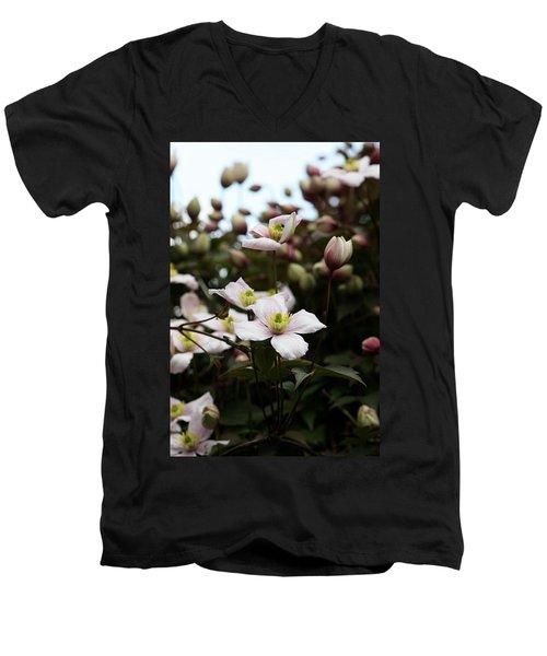 Just Flowers Men's V-Neck T-Shirt