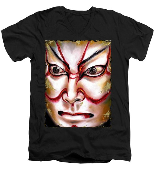 Kabuki One Men's V-Neck T-Shirt