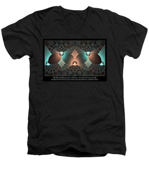 Keep You Men's V-Neck T-Shirt