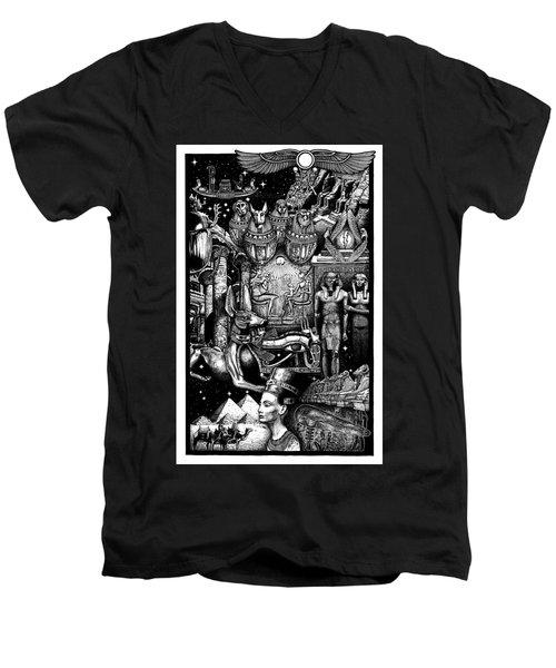 Kemitology Men's V-Neck T-Shirt