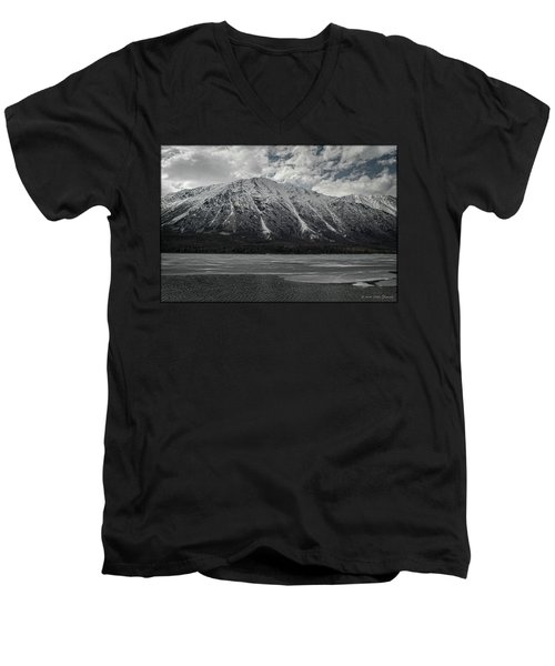 Kenai Lake Men's V-Neck T-Shirt