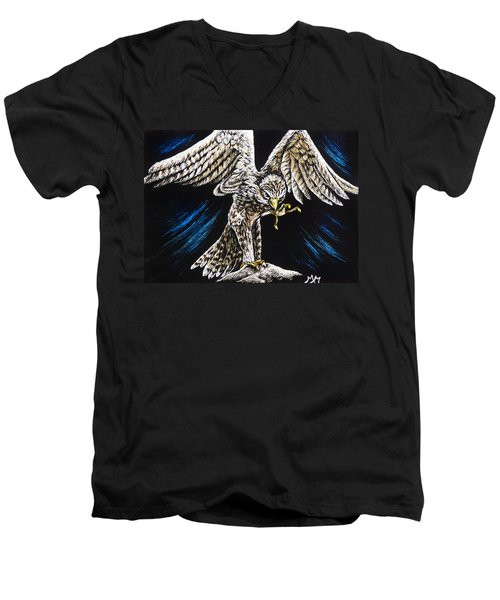 Kestrel Men's V-Neck T-Shirt