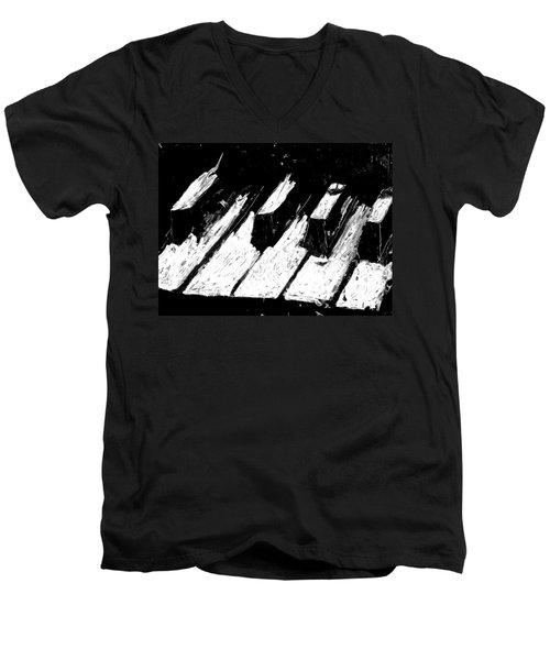 Keys Of Life Men's V-Neck T-Shirt
