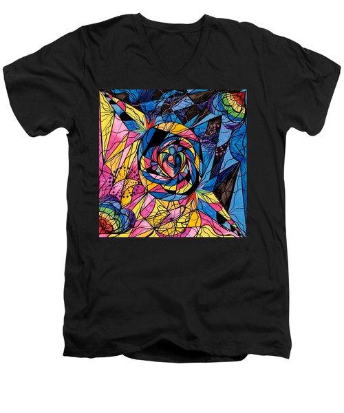 Kindred Soul Men's V-Neck T-Shirt