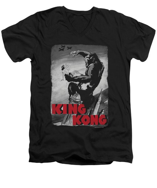 King Kong - Planes Poster Men's V-Neck T-Shirt