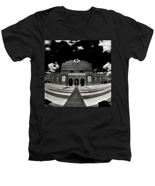 Kinnick Stadium Men's V-Neck T-Shirt