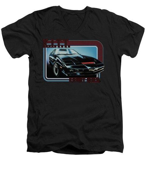 Knight Rider - Kitt Men's V-Neck T-Shirt