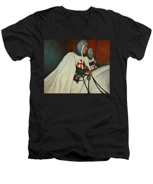 Knights Of Tomar Men's V-Neck T-Shirt