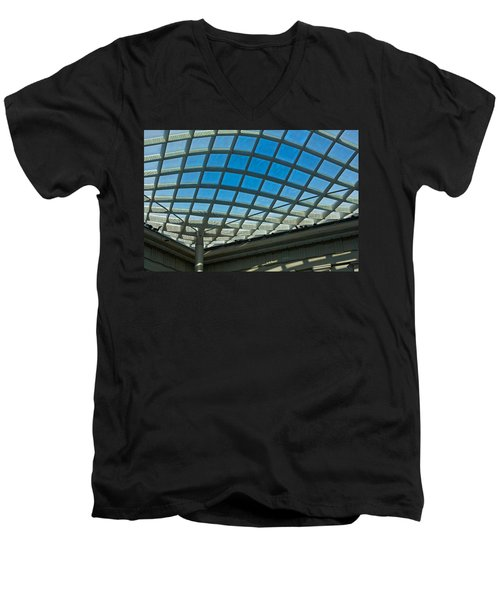 Kogod Courtyard Ceiling #3 Men's V-Neck T-Shirt