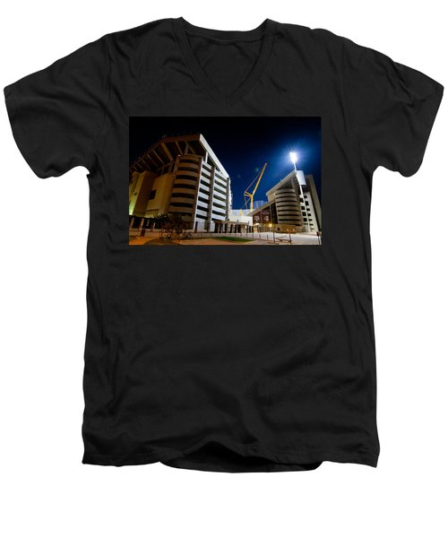 Kyle Field Construction Men's V-Neck T-Shirt