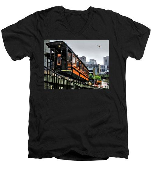 Los Angeles Angels Flight Men's V-Neck T-Shirt