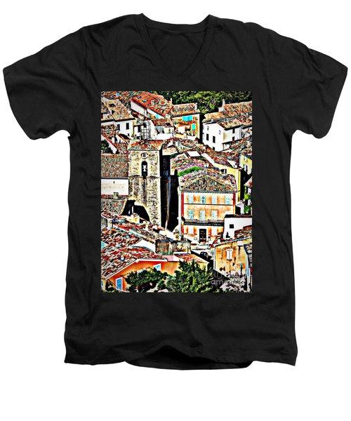 La Garde Freinet Men's V-Neck T-Shirt