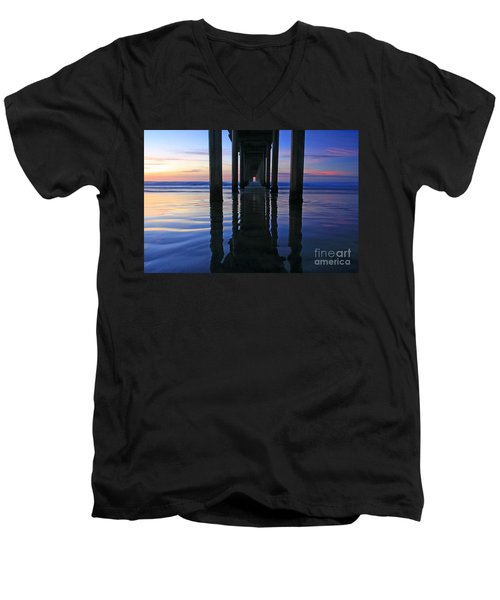 La Jolla Dream Light Men's V-Neck T-Shirt