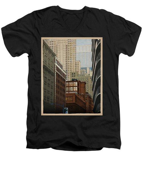 Labyrinth Men's V-Neck T-Shirt