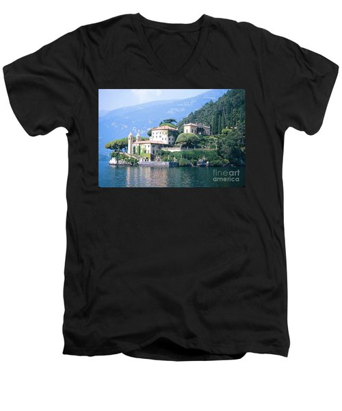 Lake Como Palace Men's V-Neck T-Shirt