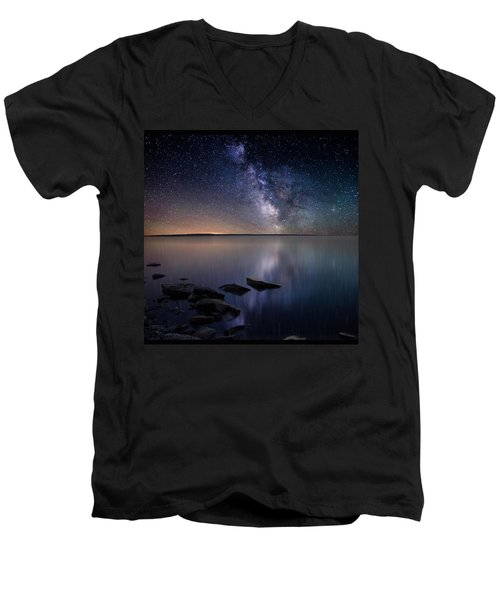 Lake Oahe Men's V-Neck T-Shirt