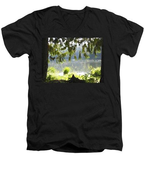 Lake Of Dreams Men's V-Neck T-Shirt