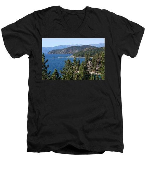 Lake Tahoe Nevada Men's V-Neck T-Shirt