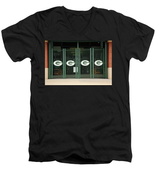 Lambeau Field - Green Bay Packers Men's V-Neck T-Shirt