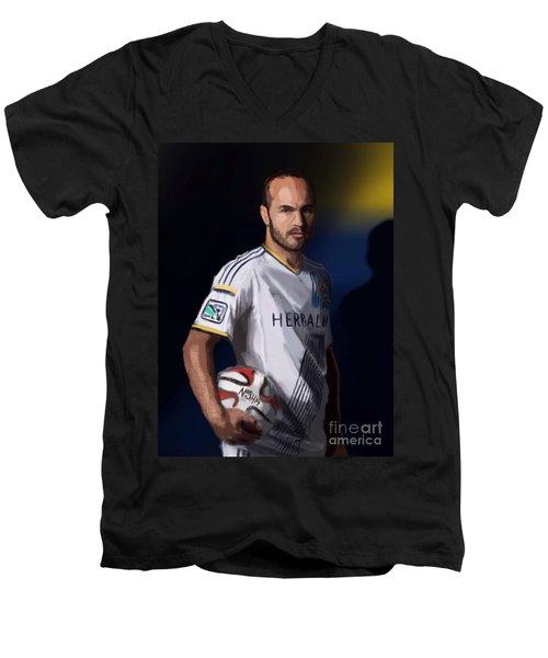 Landon Men's V-Neck T-Shirt by Jeremy Nash
